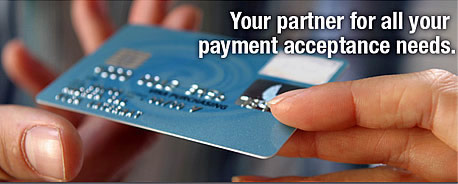 Your partner for all your payment acceptance needs.